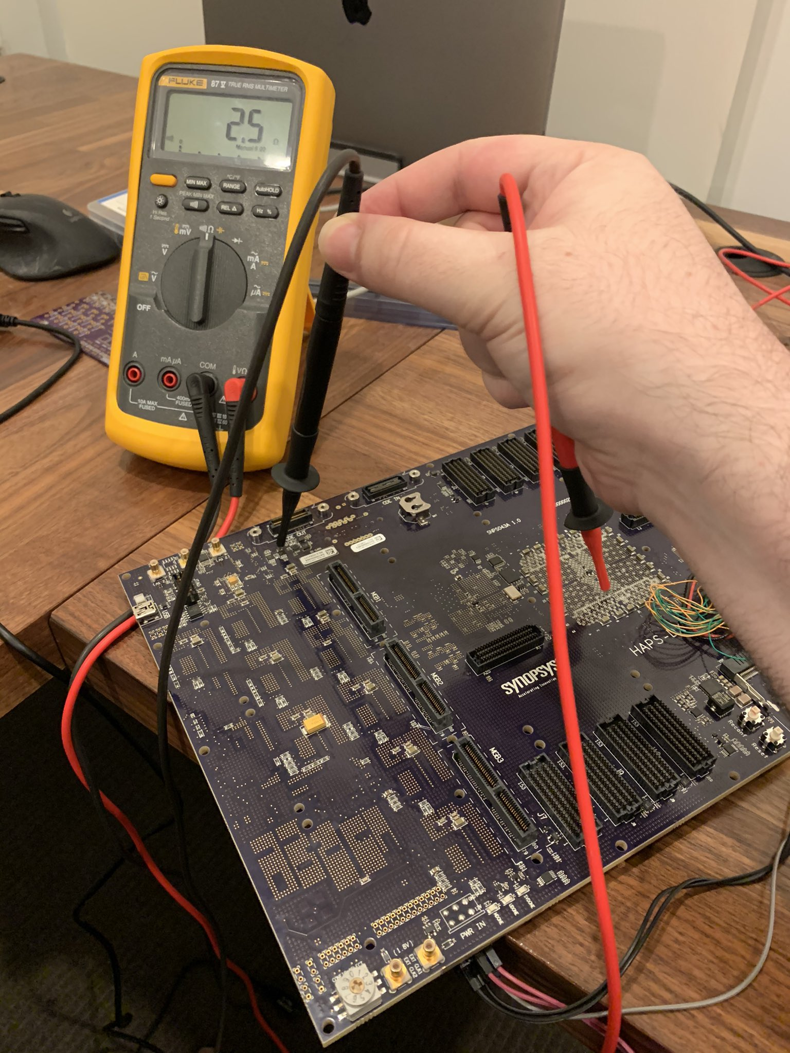 Probing the JTAG signals to trace them