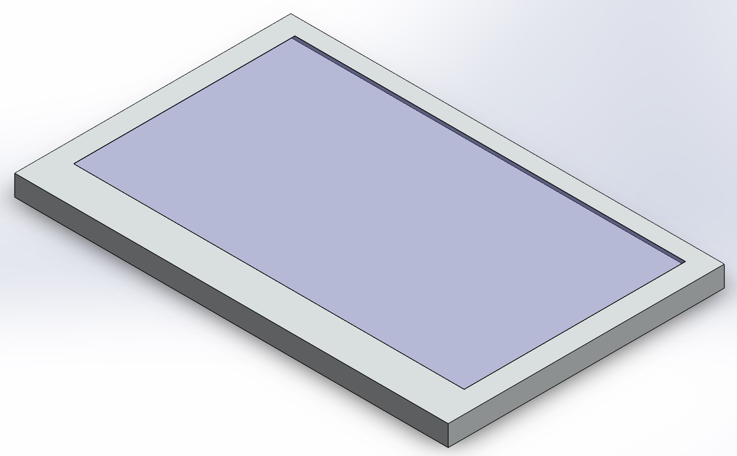 Model of the Gameslab LCD part
