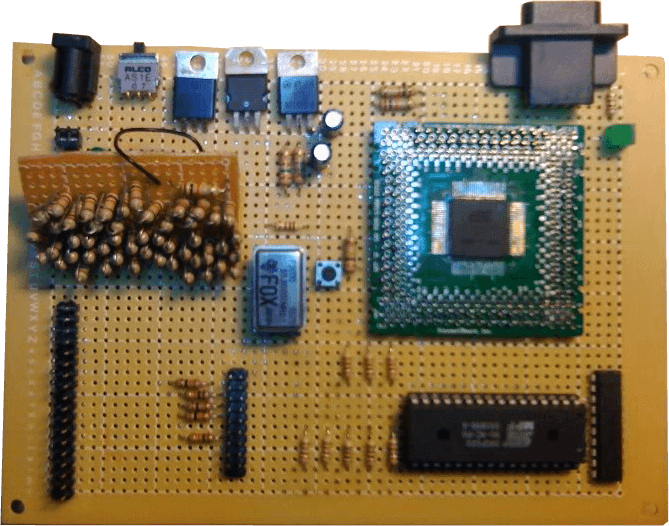 Gamesphere CPU board front side