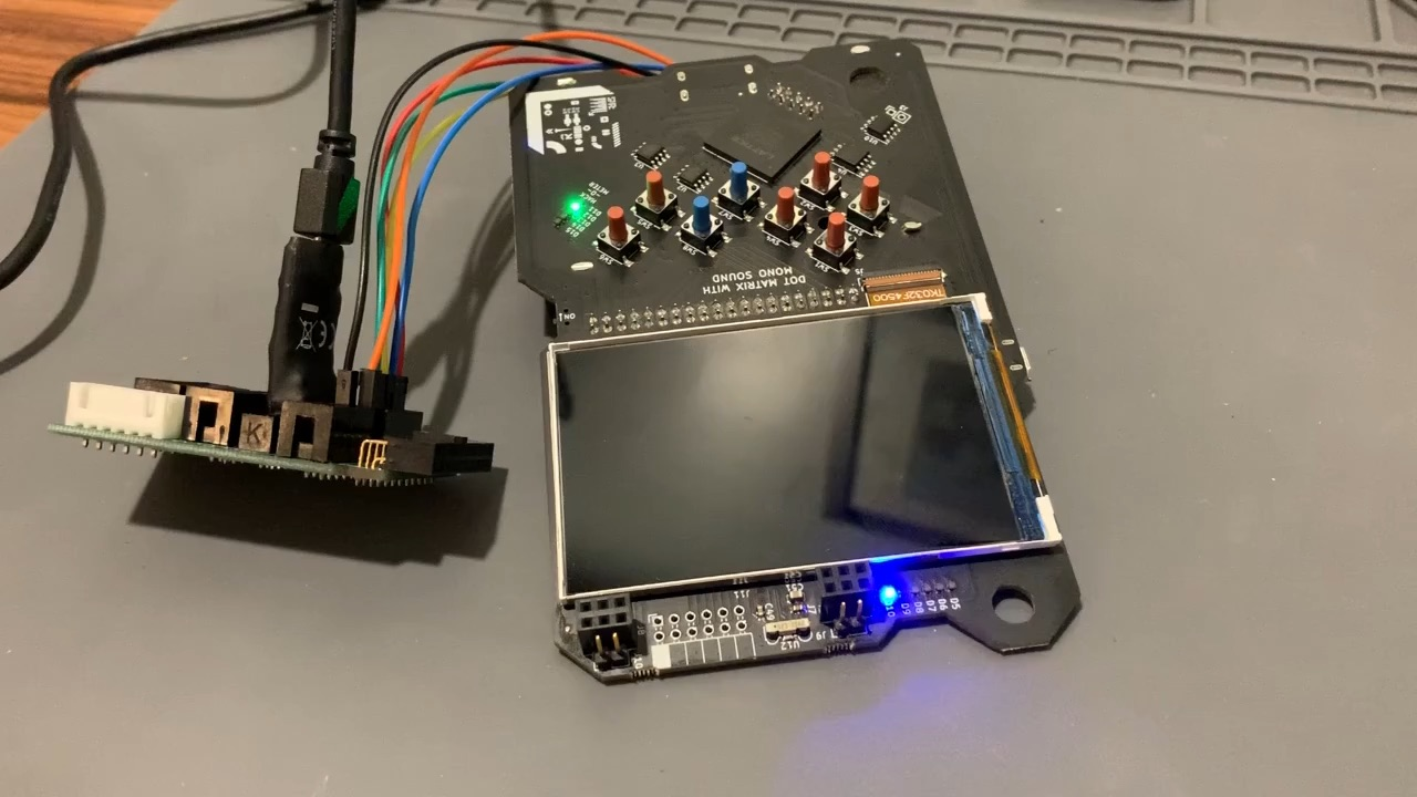 Rust on Risc-V (VexRiscv) on SpinalHDL with SymbiFlow on the Hackaday Supercon Badge